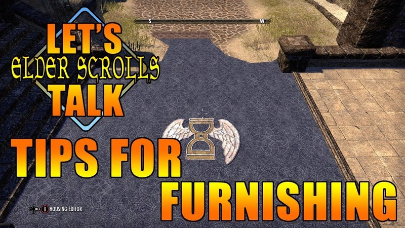 ESO Tips and Tricks Furnishings