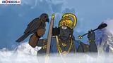 Bal ganesh and shani dev interesting story animation ganesh puran
