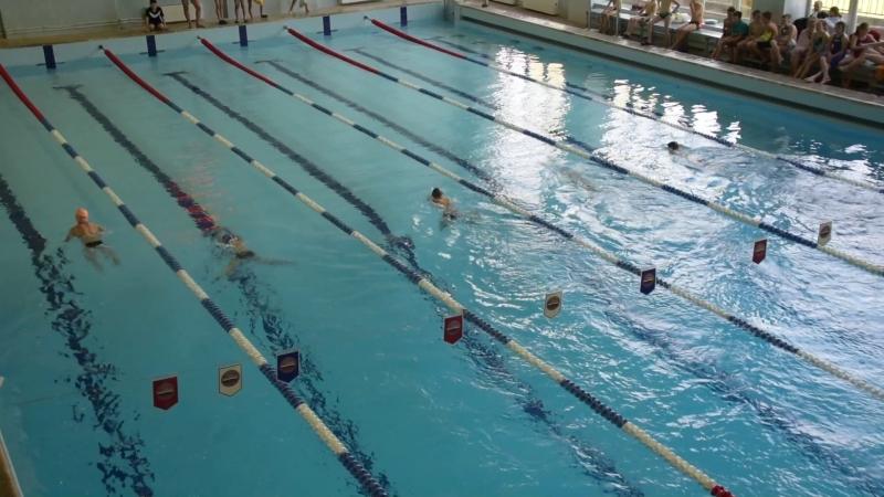 200м кпл мальчики 8 заплыв (25.05.2018)