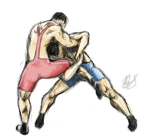 Вольная борьба картинки рисованные, бегемотики рисунки