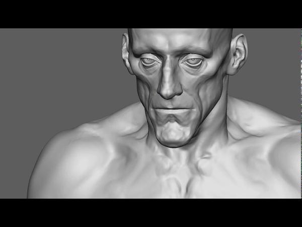 Demon TimeLapse. Zbrush 2018