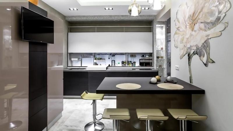 Дизайн кухни 2018. Модные тенденции и направления. Тренды, идеи, новинки современного интерьера