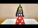 Поделки из овощей своими руками. Кукла из кукурузы и бумаги на выставку в школу и детский сад.