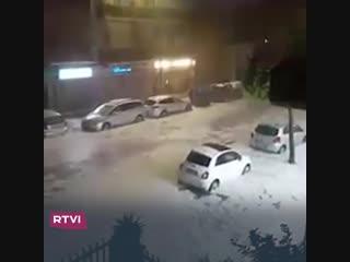 Погода в Риме не очень