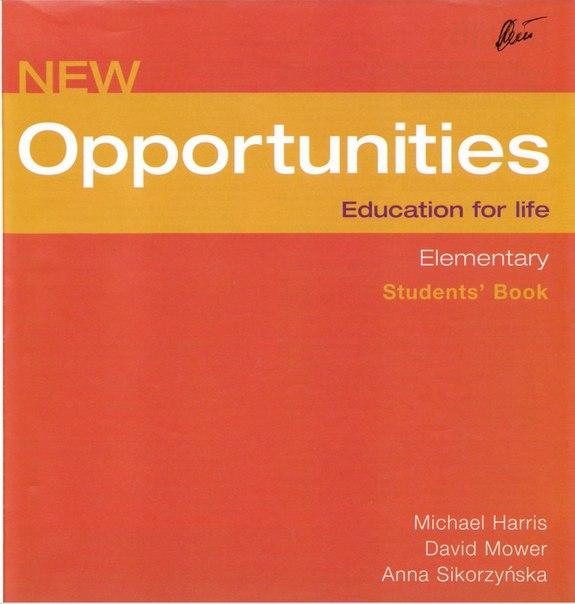 гдз opportunities elementary