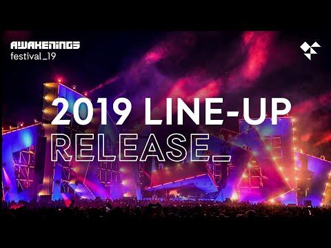 Awakenings Festival 2019 line-up release with live set by Joris Voorn