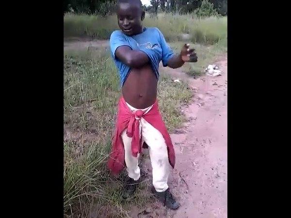 African fart insane music: plop - plop - plop!