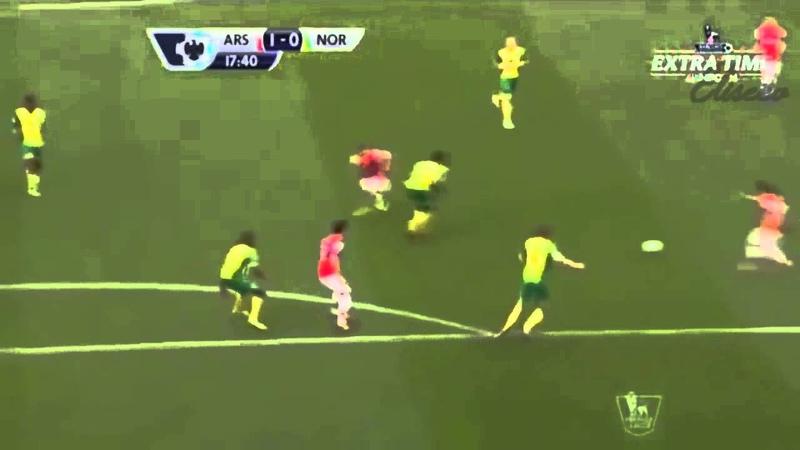 Лондонский Арсенал забил классный мяч