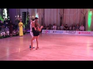 Станислав Пастушок и Александра Стрижко на Prestige Cup