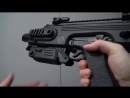 Airsoft CAA RONI Pistol Carbine Conversion Kit used with a Glock 18C Tokyo Marui