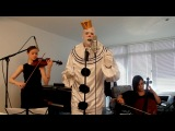 Sia - Chandelier (Sad Clown with the Golden Voice Cover)