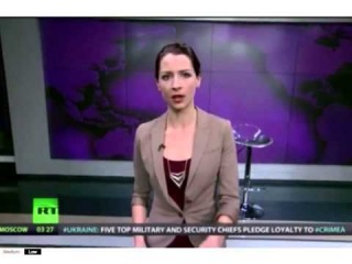 Ведущая Russia Today Лиз Уол уволилась в прямом эфире из-за вторжения России в Крым