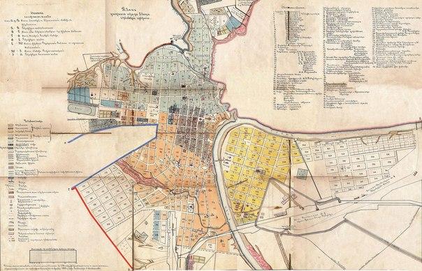 и план уездного города Ельца