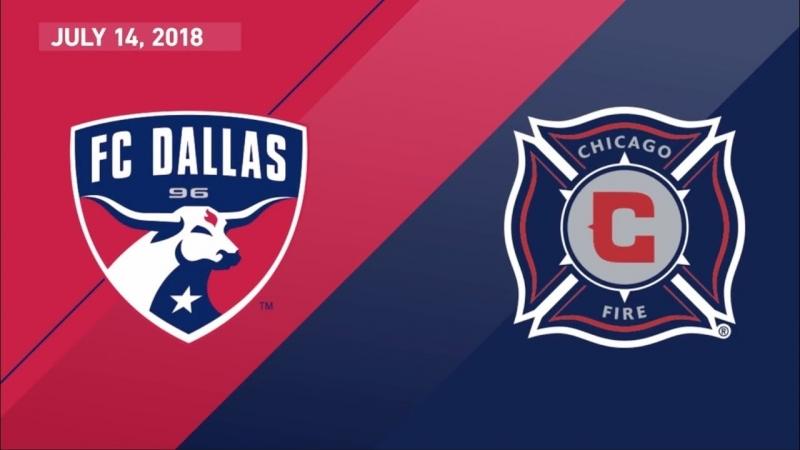 HIGHLIGHTS FC Dallas vs Chicago Fire July 14 2018 смотреть онлайн без регистрации