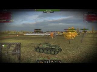 Wild Tanks Online Бой на су100, 3к урона, крысиный геймплей (саппорт) , слив.