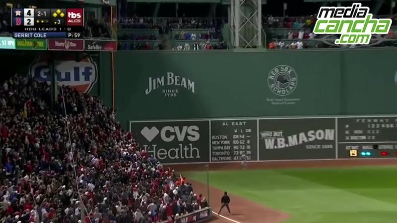 Medias Rojas vence a Astros