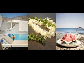 Anemos Beach Lounge Hotel in Perivolos Santorini