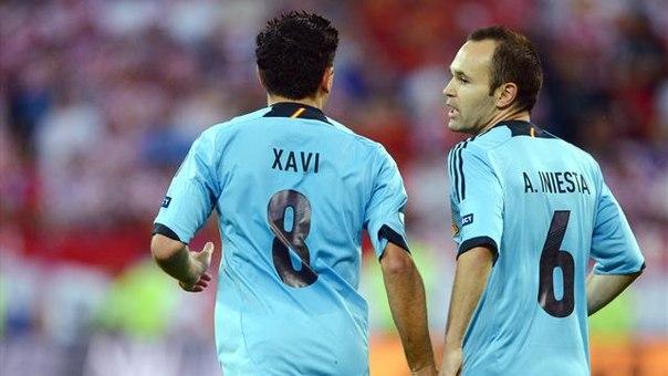 Иньеста: «Надеюсь, «Золотой мяч» выиграет испанец»