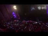 Фанкам 171118 Фанчир от фанатов перед выступлением Джексона @ Концерт Migu Culture Festival Lin Xi Night