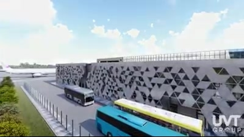 UVT group - New Terminal Of International Airport Zaporizhya From UVT group