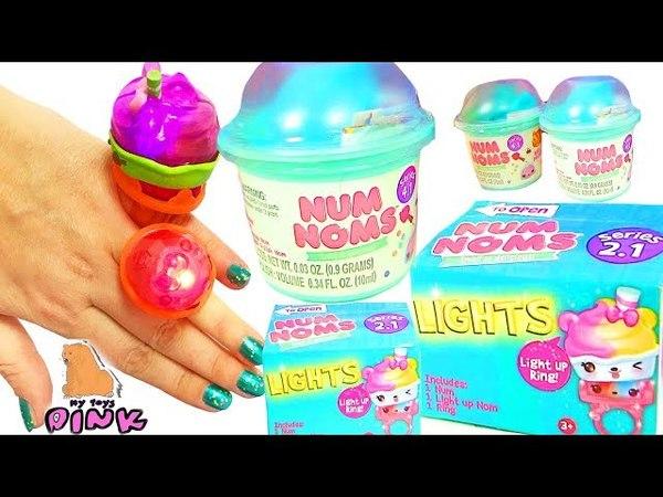 Num Noms Blind Packs ПОДАРКИ ДЛЯ ВАМПИРИНЫ! Vampirina Видео для Детей Сюрпризы   My Toys Pink
