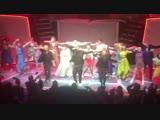 Amazing show @TheBandMusical with an amazing finale - So good to see you boys - @takethat @OfficialMarkO @HowardDonald @GaryBarl