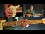 Smoke on the Water Guitar Solo Lesson - Deep Purple