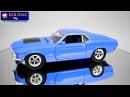 Motormax - Ford Mustang Boss 429 1970 - Blue - HD