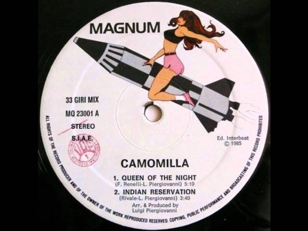CAMOMILLA - Queen Of The Night (1985)
