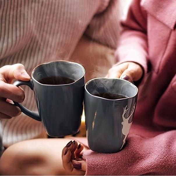 Иногда за чашкой утреннего кофе можно говорить о самых откровенных чувствах...