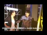 FANCAM 20180316 JACK &amp JONES x Astrid Andersen