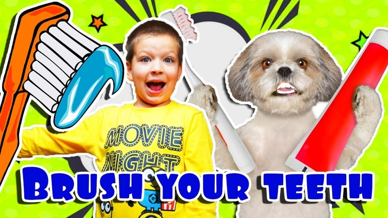 Brush your teeth! Healthy Habits Kids Song Nursery Rhymes from Funny Max Show