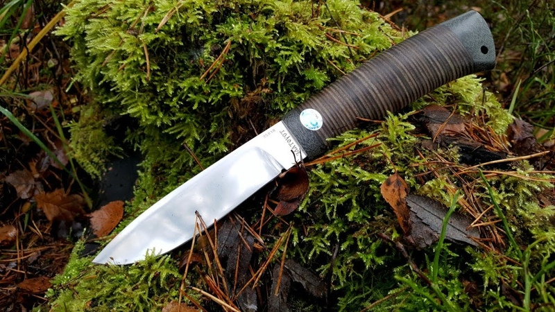 Нож ПИЛИГРИМ Златоуст АиР. Уличный тест