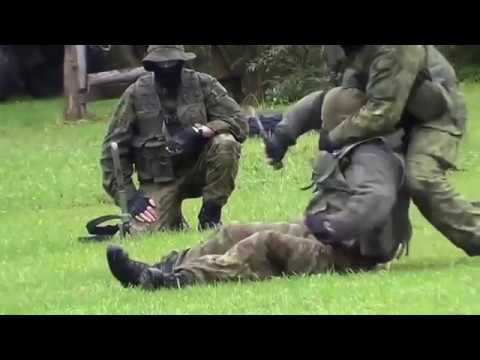 Lithuanian Army - Hand-To-Hand Combat