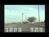 Police Chase Stolen Cop Car (Dash-cam Video)