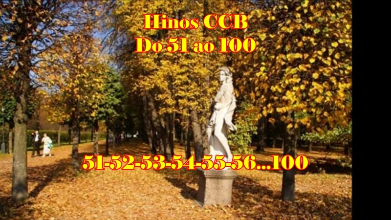 50 HINOS CANTADOS CCB - Hinos do 51 ao 100