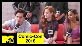 'Riverdale' Cast on Season 3, Character Deaths & More! | Comic-Con 2018 | MTV