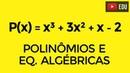 Equações algébricas - Aula 1 - Redução de grau e Relações de Girard - Prof. Gui