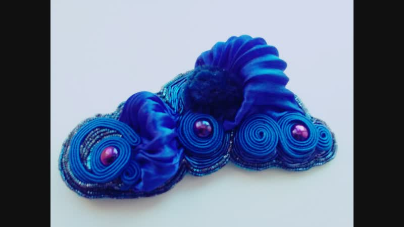 Зимний конкурс от магазина Ленты шибори shibori jewelry design SPb✨💎🌛💭🌖✨🌚✨ Брошь Мечты о море