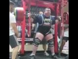 Мировой рекорд по приеду 500 кг. Влад Алхазов
