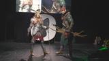 Cosplay Saskia and Iorveth - Witcher 2 /Starcon 2018/