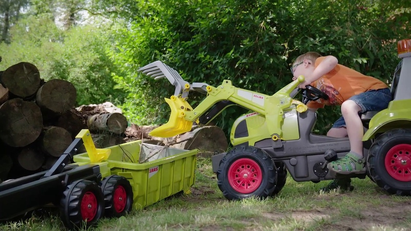 RollyContainer CLAAS (item no.: 125166) | rolly toys