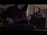 Alice Cooper - Snakebite ( Guitar cover )