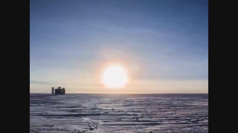Как выглядят 24 часа во время полярного дня