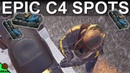 NEW C4 Spots With New C4 Physics Chalet Snowmobile Garage Rainbow Six Siege White Noise