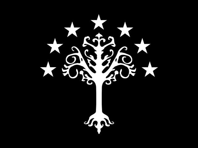 История Средиземья Белое Древо Гондора