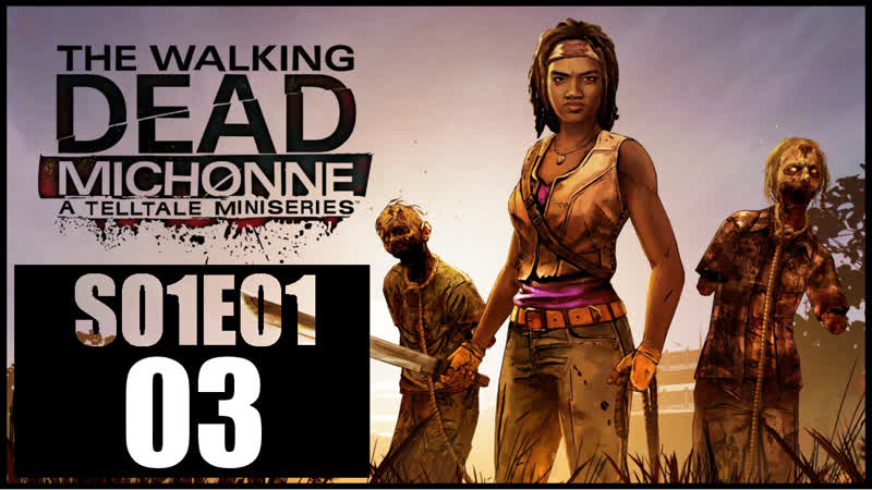 The Walking Dead Michonne S01E01 03 Хреново поговорили