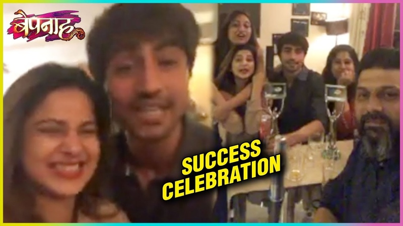 LIVE: Jennifer Winget Harshad Chopra Celebrate BEPANNAH Success at ITA Awards 2018