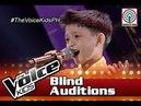 The Voice Kids Philippines 2016 Blind Auditions: Wag Ka Nang Umiyak by Ian Joseph