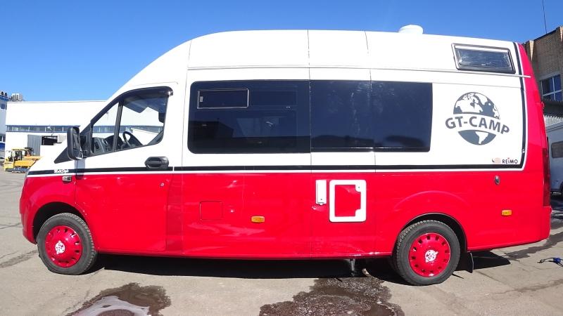 Автодом на базе ГАЗель Некст от компании Grand Tour Camping
